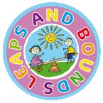 leaps and bounds nursery paisley logo