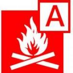 class A fire symbol