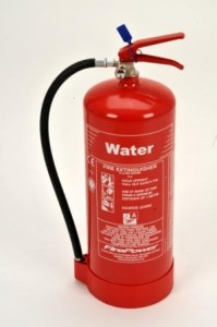 9 litre water fire extinguisher type photo