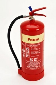 9 litre foam fire extinguisher type photo