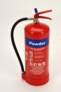 9 kg dry powder fire extinguisher type photo