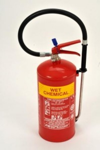 6 litre wet chemical fire extinguisher type photo