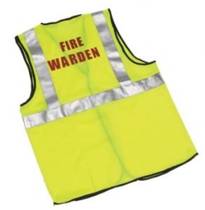 fire warden waistcoat