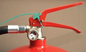 ire extinguisher head cap with pressure gauge