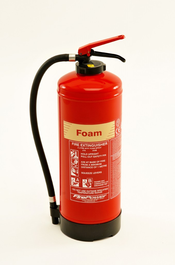 NEW FIREPOWER FOAM FIRE EXTINGUISHER - CARTRIDGE OPERATED