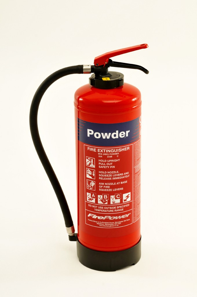 NEW FIREPOWER DRY POWDER FIRE EXTINGUISHER CARTRIDGE OPERATED