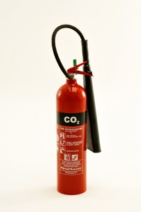 NEW FIREPOWER RANGE 5KG CO2 FIRE EXTINGUISHER