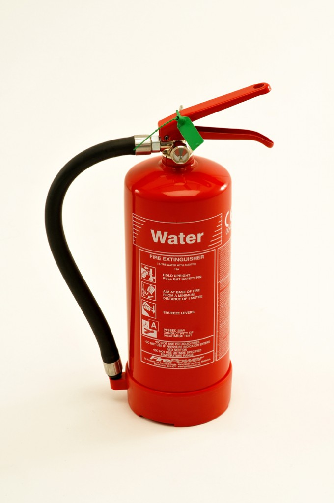 3 litre water fire extinguisher with additive