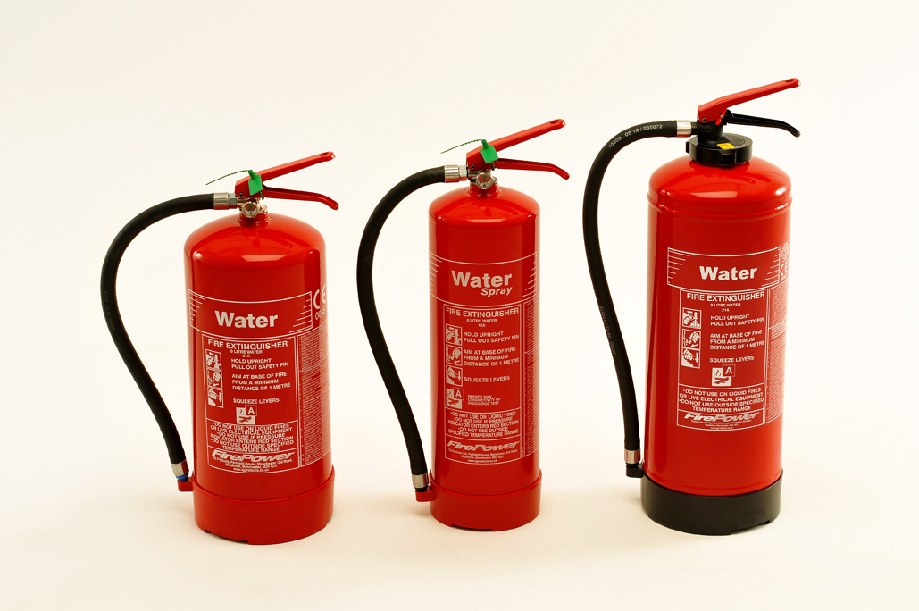 new firepower water fire extinguisher range 2013