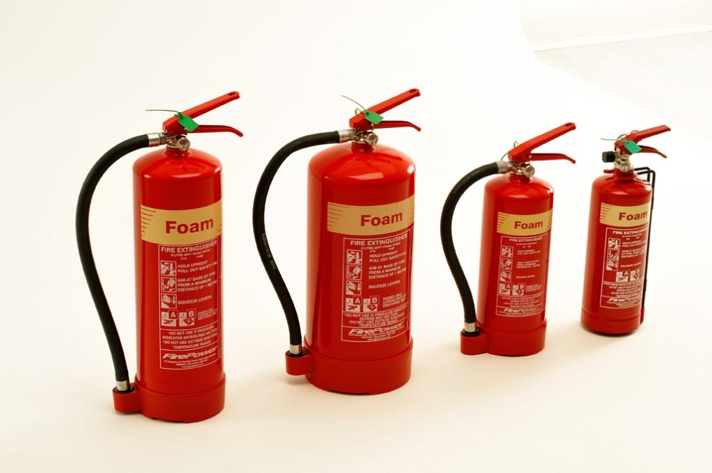 NEW FIREPOWER FOAM FIRE EXTINGUISHERS