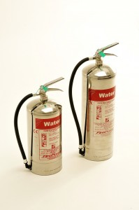 NEW FIREPOWER STAINLESS STEEL FIRE EXTINGUISHER RANGE