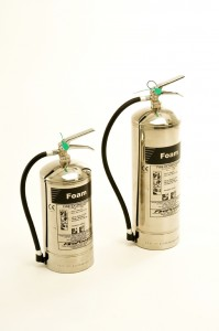 new firepower range stainless steel foam fire extinguishers