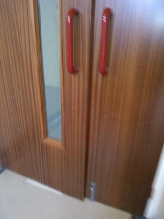 Fire doors nice products shame about the installation for Door not closing