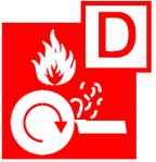 class d fire symbol